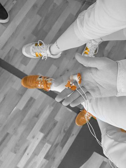 По време на тренировка по фехтовка в клуб Преторианец
