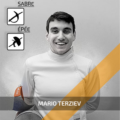 Mario Terziev - junior fencing coach