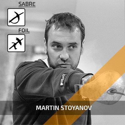 Martin Stoyanov - senior fencing coach